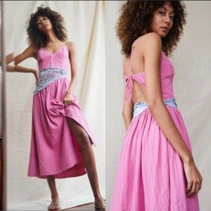 Free People Endless Summer Bon Bon Midi Dress